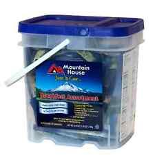 MOUNTAIN HOUSE JUST IN CASE BREAKFAST BUCKET Storage Food Survival MRE Dried