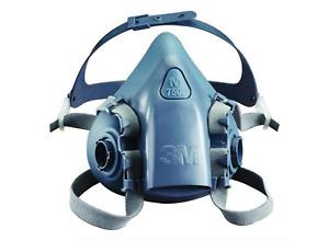 GENUINE 3M Half Face 7502 Medium Respirator