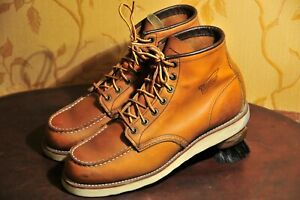 """Red Wing Heritage 875 6"""" Classic Moc Toe Oro Legacy Boots Size  US 9.5"""
