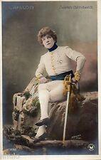 BE568 Carte Photo vintage card RPPC Femme woman Sarah Bernhardt actrice actress