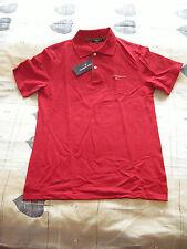 D&G - DOLCE & GABBANA Basic - Red Poloshirt - Polo Shirt