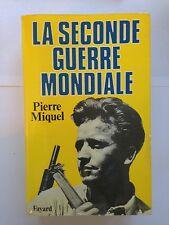LA SECONDE GUERRE MONDIALE 1987 PIERRE MIQUEL GUERRE 39-45