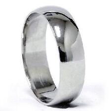 Palladium 7mm Wide Dome Men S Wedding Band Ring Comfort Fit Best Price New
