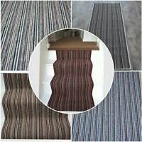 Long Small Stair Hall Carpet Runner Striped Stairs Hall up to 30ft x 2ft Stripe