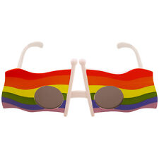 GAY PRIDE FLAG RAINBOW GLASSES, CHRISTMAS STOCKING FILLERS FUN UNISEX GLASSES