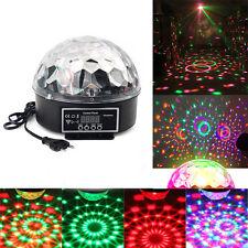 Party Laser DJ Lights LED Stage Lighting Crystal Magic Ball Effect Bar Disco RGB