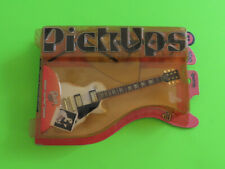 (1) Pick Ups Gibson Les Paul Custom Guitar Authentic Miniature Collectible Model