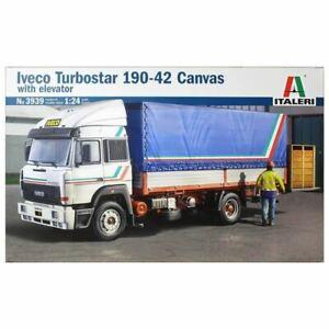 Italeri 1/24 Iveco Turbostar 190-42 Canvas With Elevator Kit (New)