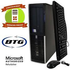 FAST HP Desktop Computer QUAD CORE i5 3.1GHz 8GB RAM 500GB HD Windows 10 PC WiFi