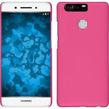 Funda Rígida Huawei P9 - goma rosa caldo Case