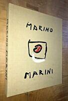 1968 Marino Marini Partial Limited Edition Portfolio Of 19 Lithographs Modernism