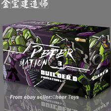 Jinbao Devastator Decepticons Oversized Toy Excavator Bulldozer A packaging