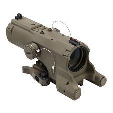 NcSTAR Tactical 223 5.56 ECO Tan 4X34 Scope Blue Red illumination Rifle Scope
