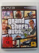 !!! PLAYSTATION PS3 SPIEL Grand Theft Auto V five KARTE USK18, gebr. aber GUT!!!