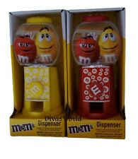 M&M's Candy Dispenser RED/YELLOW Sweet Plain Chocolate Brand New Gift Pack