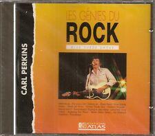 MUSIQUE CD LES GENIES DU ROCK EDITIONS ATLAS - CARL PERKINS N°7
