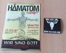 W:O:A 2016 WACKEN OPEN AIR Kondom und Hämatom Heft