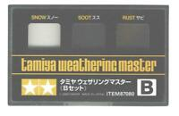 Tamiya Weathering Master Effect Set B Powders Models Snow/Soot/Rust 87080