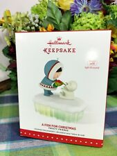 Hallmark Frosty Friends 2015 ornament A Fish For Christmas