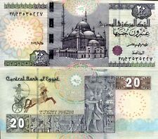 EGYPT 20 Pound Banknote World Paper Money UNC Currency Pick p74a 2016 Bill Note