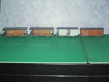 4 x Liliput H0e Zillertalbahn Personenwagen + Güterwagen + Postw. Schmalspur