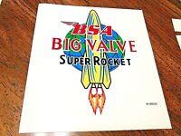 BSA Big Valve Super Rocket top tank vinyl transfer sticker 1960-63 42-8122 A10SR