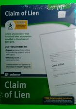 Real estate, claim of lien