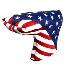 1pc USA Magnetic Golf Headcover Embroidery Blade Putter Cover for Scotty Cameron
