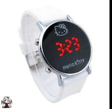 Reloj digital Hello Kitty Blanco + regalo pendientes