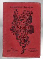 ALMANACH VERMOT 1934.  - Bel état, complet