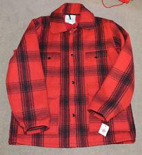 23a2af0815185 NWT Vtg Johnson Woolen Mills Plaid Hunting Farming Jacket Coat Sz 42 1960s  Wool
