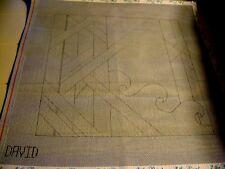 Line Drawn Needlepoint
