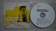 Rufus Wainwright – Yellow Lounge  PROMO CD  Deutsche Grammophon – 442 9153