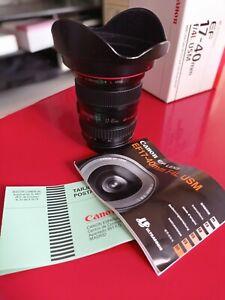 Canon EF 17-40 mm F: 4L USM