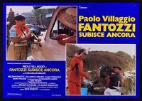 T109 Fotobusta Fantozzi Paolo Dorf Fantozzi Erfährt Anker Ferguson 1