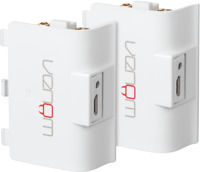 Venom High Capacity 1200mAh Rechargeable Battery Twin Pack - White - Xbox One