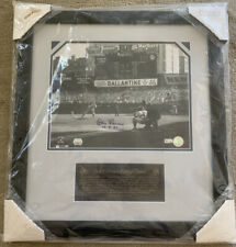 """Signed Don Larsen New York Yankees Framed 23""""x21"""" Perfect Game Photo 11""""x14"""""""