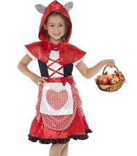 MISS HOOD LITTLE RED RIDING HOOD GIRLS MEDIUM 7 8 9 DRESS BOOK WEEK COSTUME
