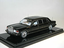 TrueScale Miniatures, 1991 Rolls-Royce Silver Spur II Limousine, black, 1/43