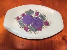 Retro Vintage Melamine Bessemer Platter Made In Australia Platter Tray BBQ