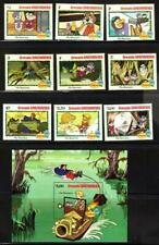 Grenada Grenadines DISNEY CHARACTERS THE RESCUERS Stamps & S/S (D644)