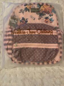 MATILDA JANE Floral Dreams Backpack PINK MULTI, NEW IN PACKAGE