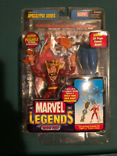 marvel legends Toybiz Iron Fist Red Uniform Chase/Variant Apocalypse BAF Series