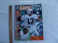 Oct 13 1996 Buffalo Bills vs Miami Dolphins Game Day Program Dan Marino Cover QB
