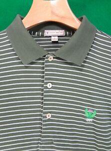 GARDEN CITY Golf Club Peter Millar long sleeved golf shirt L