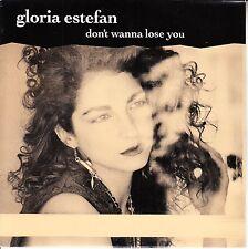 "GLORIA ESTEFAN  Don't Wanna Lose You PICTURE SLEEVE 7"" 45 rpm record NEW RARE!"