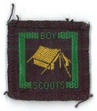 1950's UNITED KINGDOM SCOUTS - UK SENIOR SCOUT CAMP WARDEN Proficiency Badge