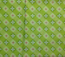 """Tea on the Terrace"" Cotton Fabric - High Society by modkid - 1 Yard  x 43"""