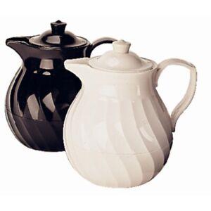 Kinox Insulated Teapot Black 1 Ltr [K785]