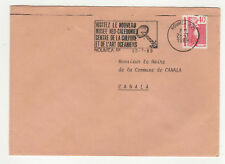 1 timbre sur lettre 1989 tampon Nouméa /L318